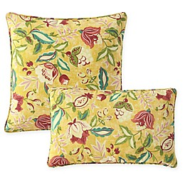 Waverly® Lexie Outdoor Throw Pillow in Yellow