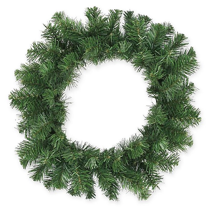 16 Inch Pine Artificial Christmas Wreath
