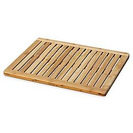 23.75-Inch x 17.75-Inch Bamboo Bath Mat