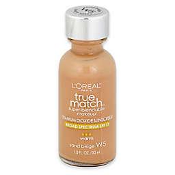 L'Oréal® True Match 1 oz. Super-Blendable Liquid Makeup Sand Beige W5