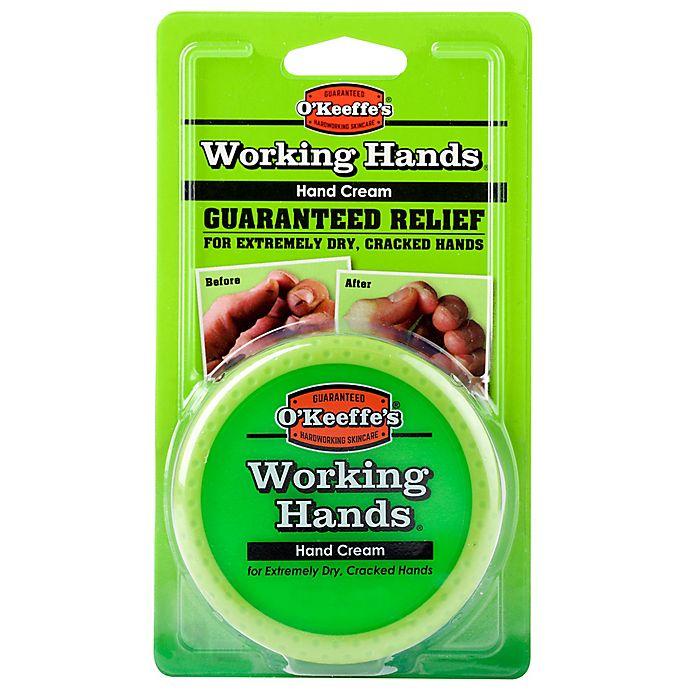 Alternate image 1 for O'Keeffe's® Working Hands™ 2.7 oz. Hand Cream Jar