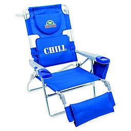 Margaritaville® Folding Lounger Beach Chair in Blue