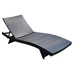 Barrington All-Weather Wicker Chaise Lounger