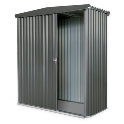 Stratco Handi-Mate Outdoor Storage Shed with Sliding Door