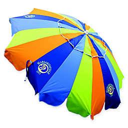 Margaritaville® 7.5-Foot Multicolor Beach Umbrella with Table