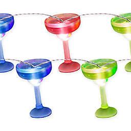 Margarita Glass 20-Light LED String Lights