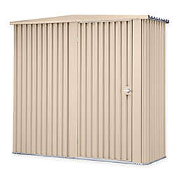 Stratco Handi-Mate 72-Inch Outdoor Storage Shed with Hinged Door