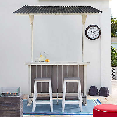 Wood Outdoor Entertaining Bar