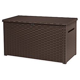 Keter Java Outdoor Deck Storage Box in Brown