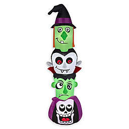 Inflatable Halloween Totem Outdoor Decoration