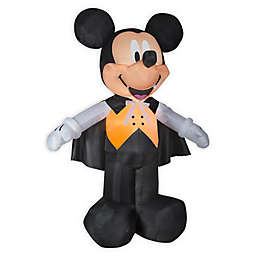 Inflatable Disney® Mickey Mouse Vampire 10-Foot Outdoor Halloween Decoration