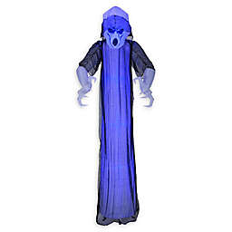 Inflatable Lightshow Shortcircuit Frightening Ghost 8-Foot Outdoor Halloween Decoration