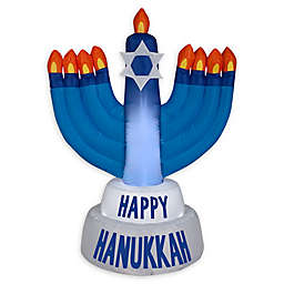 Gemmy® Happy Hanukkah Menorah Inflatable Outdoor Decoration