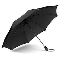 UnbelievaBrella™ Reverse Compact Umbrella in Black