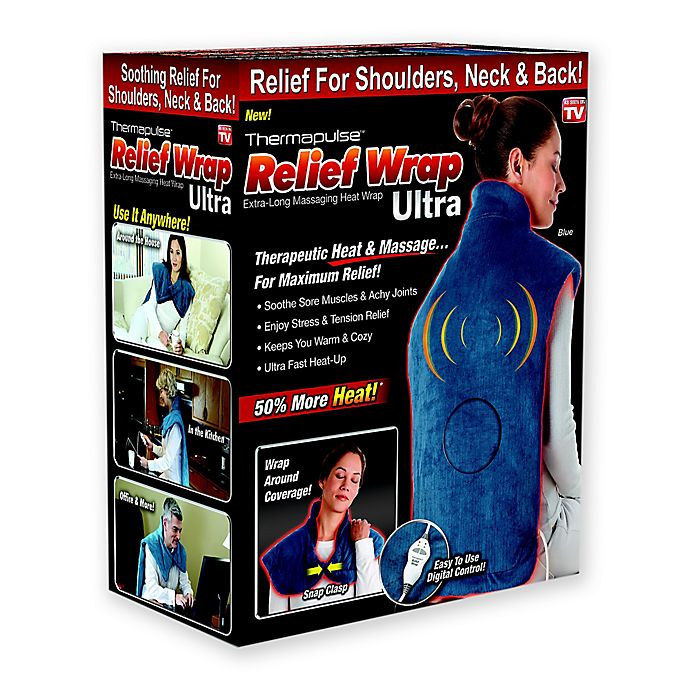 Alternate image 1 for Thermapulse Relief Wrap Ultra