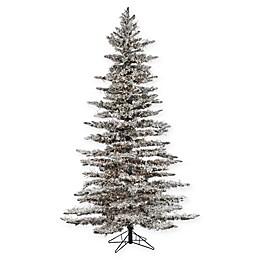 Sterling 7.5-Foot Pre-Lit Wyoming Snow Pine Christmas Tree