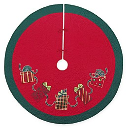 C&F Home Gift Boxes Tree Skirt