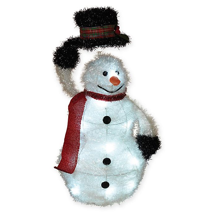 Alternate image 1 for Gerson Outdoor Tinsel Snowman