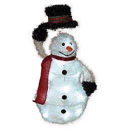 Gerson Outdoor Tinsel Snowman