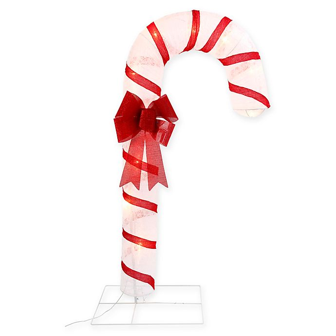 Alternate image 1 for Gerson Outdoor Lighted Candy Cane