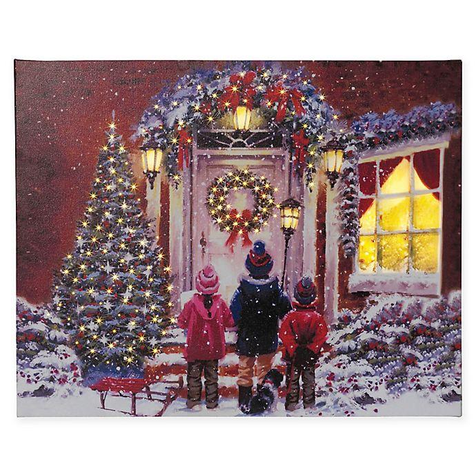 gerson fiber optic christmas carol painting