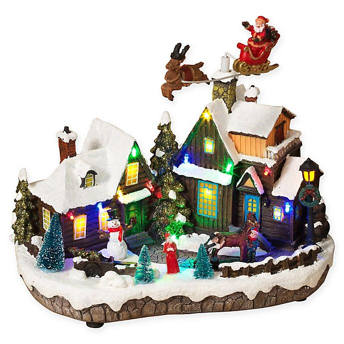 Alternate image 1 for Gerson Lighted Holiday Village