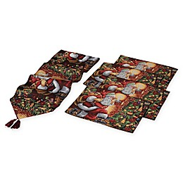 Gerson 5-Piece Santa Table Set