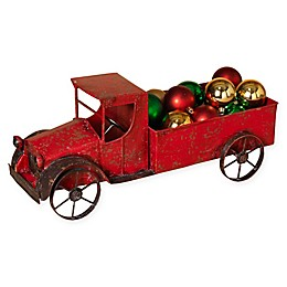 Gerson Antique Metal Truck in Red