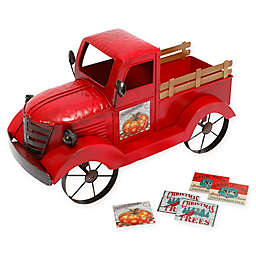 Gerson Metal Antique Truck in Red