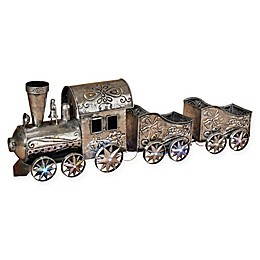 Gerson 35.25-Inch Lighted Musical Holiday Train
