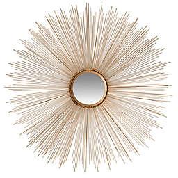 Safavieh Sunburst Mirror in Gold