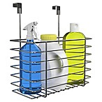 Classic Cuisine Over The Cabinet Kitchen Storage Organizer Basket in Chrome