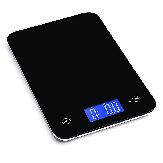 Alternate image 1 for Ozeri® Touch Digital Kitchen Scale in Black