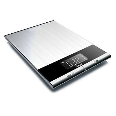 Ozeri® Ultra Thin Digital Kitchen Scale in Stainless Steel