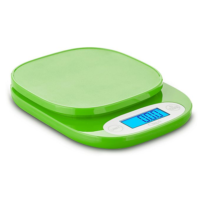 Alternate image 1 for Ozeri® Digital Kitchen Scale in Lime Green