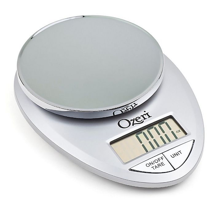 Alternate image 1 for Ozeri® Pro Digital Kitchen Scale in Silver