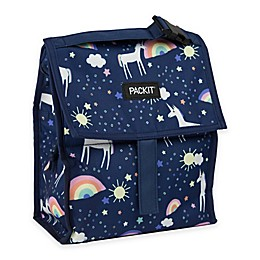 PACKiT® Freezable Lunch Bag in Navy Unicorn