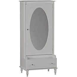 Little Seeds® Rowan Valley Laren Armoire with Mirror in Dove Gray