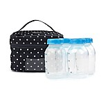 PACKiT® Freezable Breast Milk & Formula Cooler in Black/White