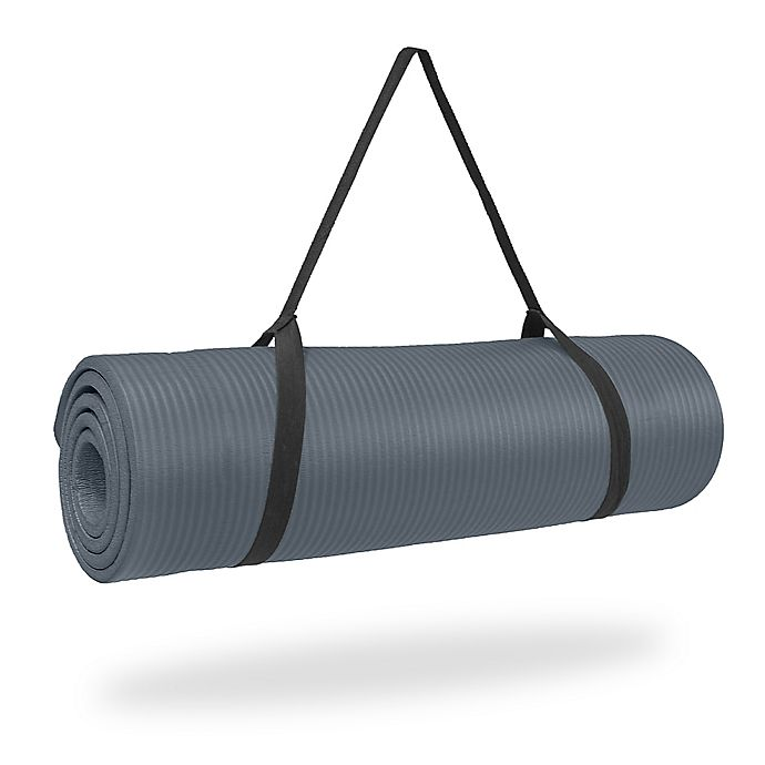 Alternate image 1 for Pure Fitness®  Extra Thick High Density Exercise Mat