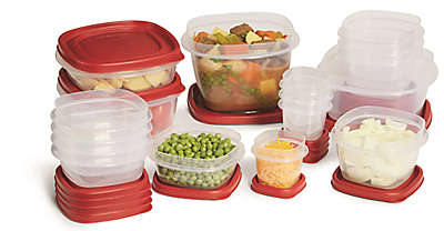 Rubbermaid® 24-Piece Food Storage Set with Easy Find Lids™ in Red