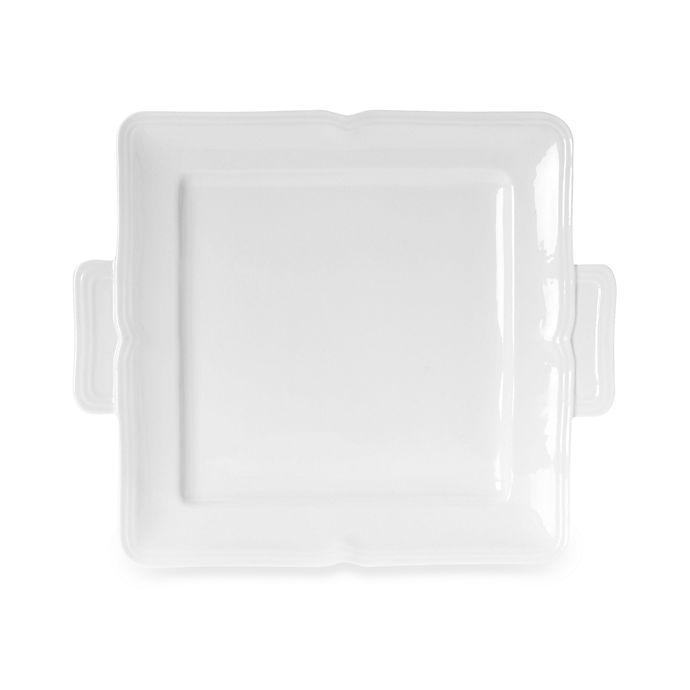 Alternate image 1 for Mikasa® Antique White Square Dessert Tray
