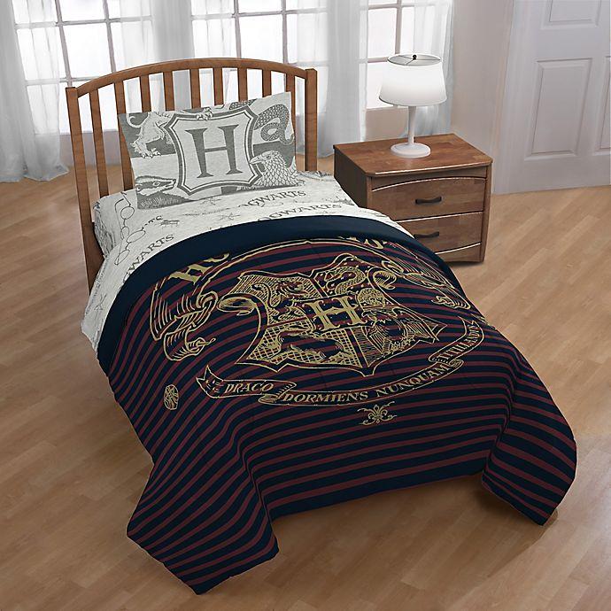 Alternate image 1 for Harry Potter Spellbound 4-Piece Twin Comforter Set