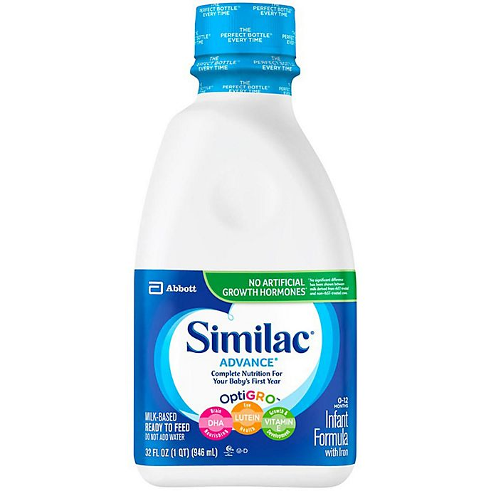 Alternate image 1 for Similac® Advance Ready to Feed 32 oz. Bottle