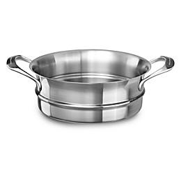 Kitchenaid® 8 qt. 18/10 Stainless Steel Steamer Insert
