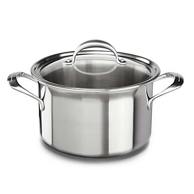 Kitchenaid® 8 qt. Copper Core Stainless Steel Covered Stock Pot
