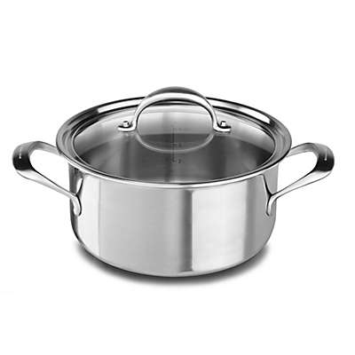 Kitchenaid® Copper Core Stainless Steel 6 qt. Covered Low Casserole