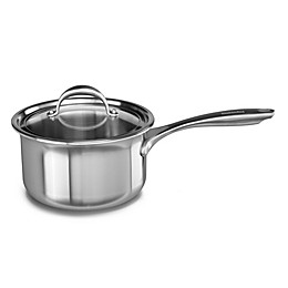 Kitchenaid® 3 qt. Copper Core Stainless Steel Covered Saucepan
