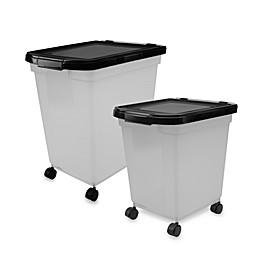 IRIS® Airtight Mobile Dog Food Storage Container