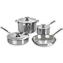 Le Creuset® 7-Piece Stainless Steel Cookware Set